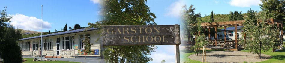 Garston School features - classroom, sign and playground.