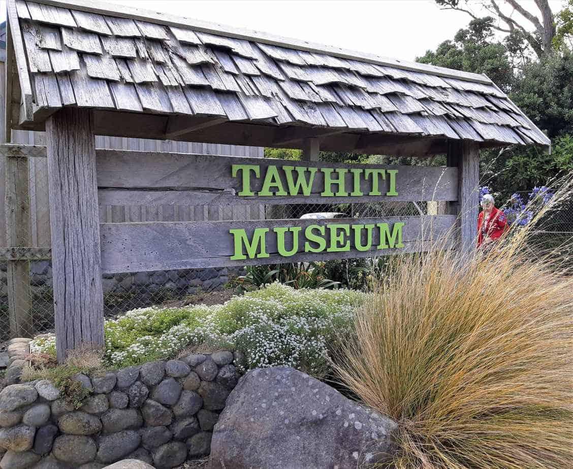 Entrance to Tawhiti Museum